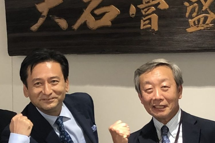 佐賀県知事が工場見学に来社されました!